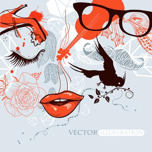 vector  illustration ofのイラスト素材 [FYI03080710]