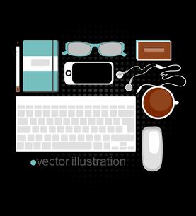 vector illustration of web designer toolsのイラスト素材 [FYI03081189]