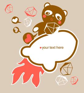 vector illustration of a cartoon pandaのイラスト素材 [FYI03081603]
