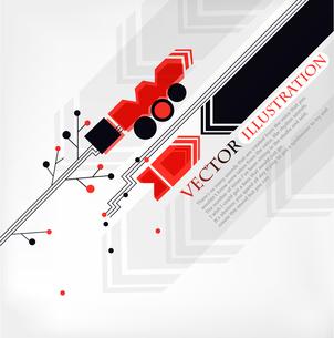 abstract vector illustration. eps10のイラスト素材 [FYI03081895]
