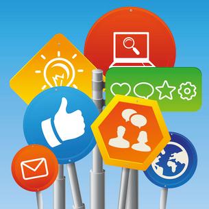 Vector internet marketing conceptのイラスト素材 [FYI03082809]