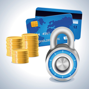 Vector finance shoppingのイラスト素材 [FYI03082839]