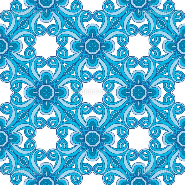 Ornamental seamless patternのイラスト素材 [FYI03083133]