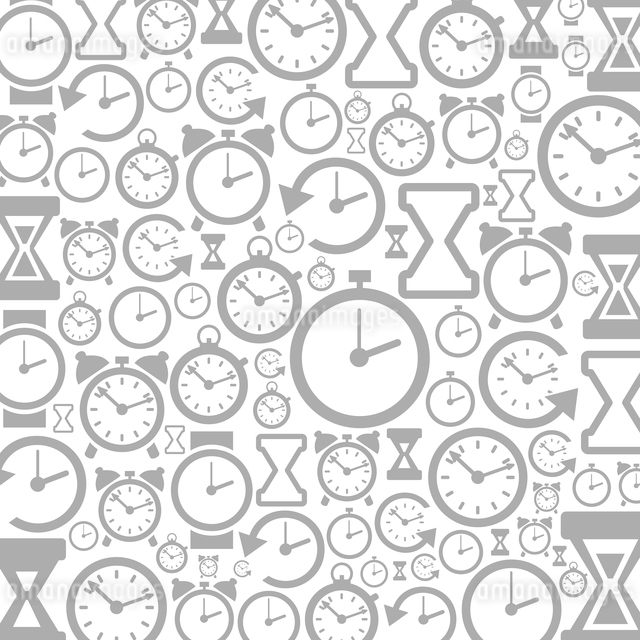 Grey background of hours. A vector illustrationのイラスト素材 [FYI03083507]