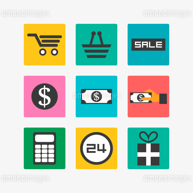 Sale iconsのイラスト素材 [FYI03083912]