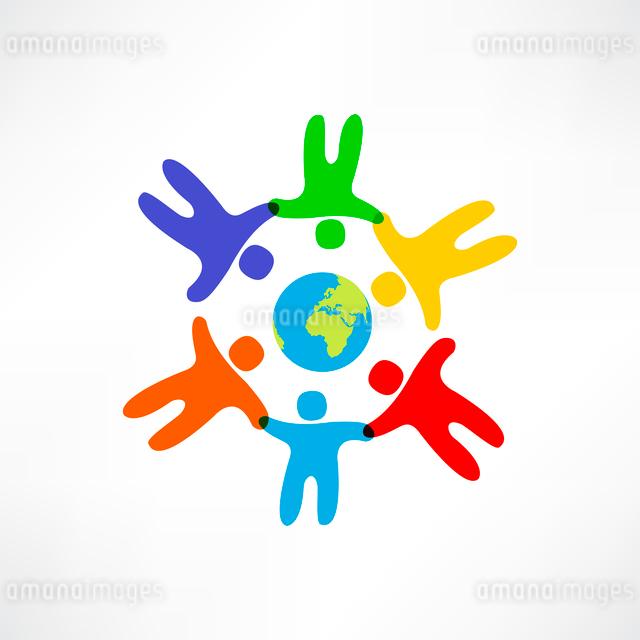 world friendship iconのイラスト素材 [FYI03083924]