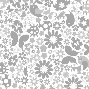 Background on a theme Easter. A vector illustrationのイラスト素材 [FYI03085444]