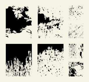 grunge a structure3. Abstract structures for design. A vector illustrationのイラスト素材 [FYI03085723]