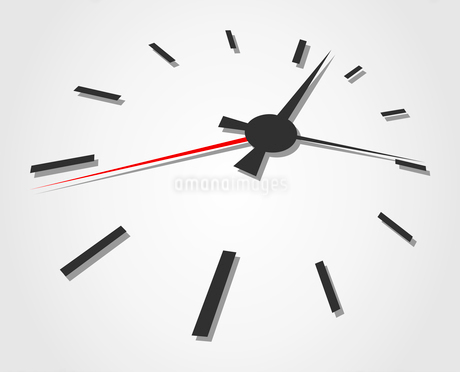 Hours. Arrows of hours on a grey background. A vector illustrationのイラスト素材 [FYI03085941]