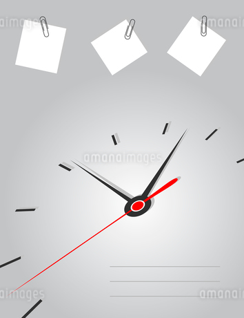 Arrows of hours on a grey background. A vector illustrationのイラスト素材 [FYI03085942]