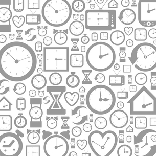 Grey background of hours. A vector illustrationのイラスト素材 [FYI03085945]