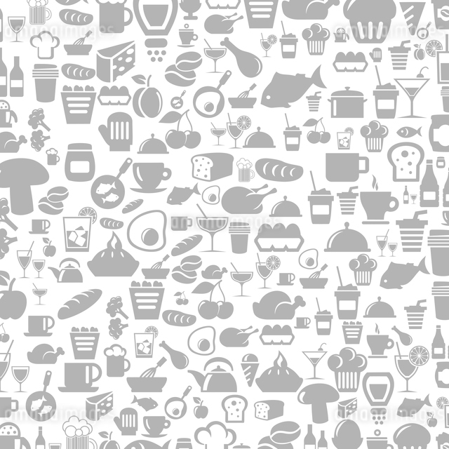 Background made of meal. A vector illustrationのイラスト素材 [FYI03086315]