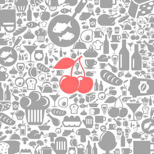Background made of meal. A vector illustrationのイラスト素材 [FYI03086316]