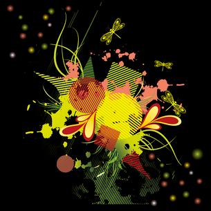 Grunge Backgroundのイラスト素材 [FYI03086845]