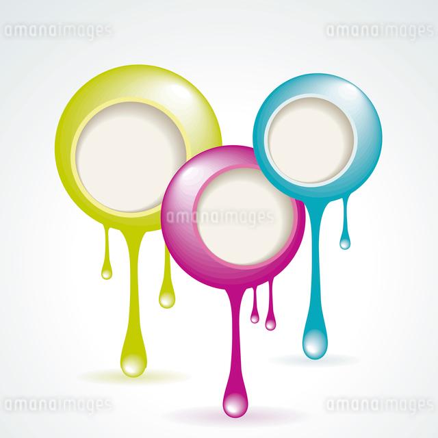 Vector Idea Bulbs. Chat Bubblesのイラスト素材 [FYI03086912]