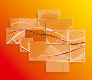 Background orange abstract website patternのイラスト素材 [FYI03087269]