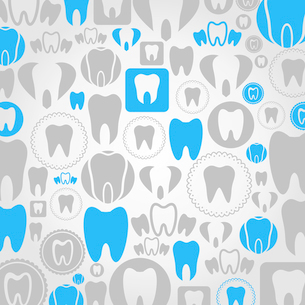 Background made of a teeth. A vector illustrationのイラスト素材 [FYI03087576]