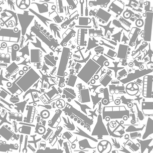 Grey background on a theme transport. A vector illustrationのイラスト素材 [FYI03087588]