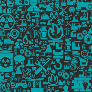 Grey background on a theme the industry. A vector illustrationのイラスト素材 [FYI03088288]
