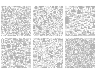 Set of structures the industry. A vector illustrationのイラスト素材 [FYI03088289]