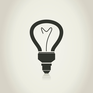 Icons of bulbs for design. A vector illustrationのイラスト素材 [FYI03088479]