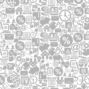 Grey background on a theme business. A vector illustrationのイラスト素材 [FYI03088486]