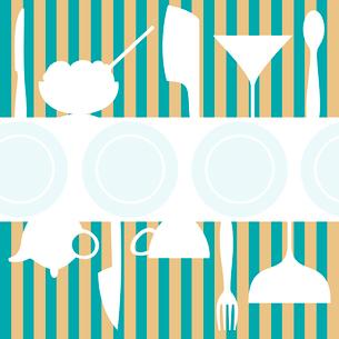 Cafe menu. Framework for the cafe menu. A vector illustrationのイラスト素材 [FYI03088563]