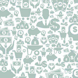Background made of money. A vector illustrationのイラスト素材 [FYI03088887]