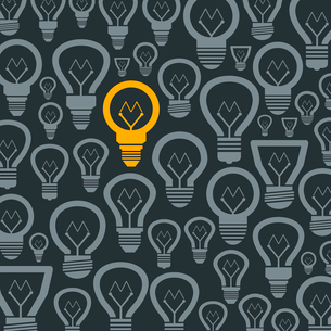 Background made of bulbs. A vector illustrationのイラスト素材 [FYI03088985]