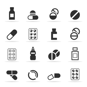 Set of icons a tablet. A vector illustrationのイラスト素材 [FYI03089050]