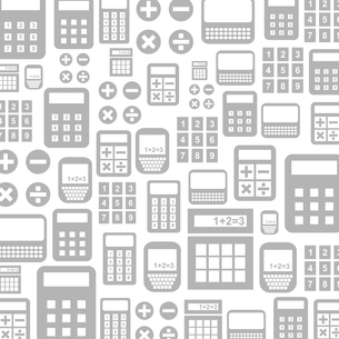 Background made of the calculator. A vector illustrationのイラスト素材 [FYI03089089]