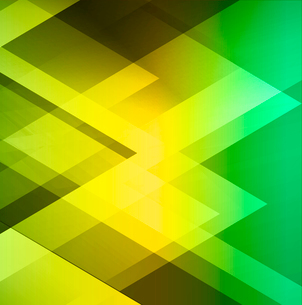 Green geometric  business background. Vector EPS 10のイラスト素材 [FYI03089345]