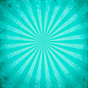 Designed grunge turquoise paper texture, background EPS 10のイラスト素材 [FYI03089362]