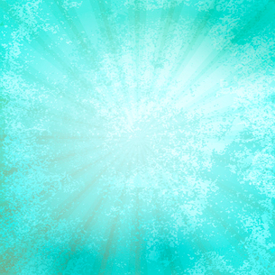 Designed grunge turquoise paper texture, background EPS 10のイラスト素材 [FYI03089367]