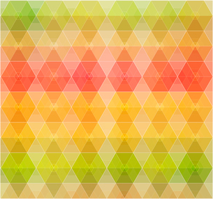 Retro pattern of geometric shapes. Colorful mosaic banner.のイラスト素材 [FYI03089379]
