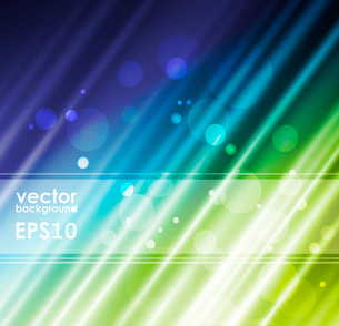 Green silk fabric for backgrounds, vector illustration eps10のイラスト素材 [FYI03089430]