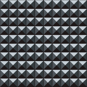 Vector Abstract geometric  seamless pattern with 3d cubesのイラスト素材 [FYI03089574]