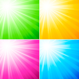 Vector illustration abstract sunny light background. EPS 10のイラスト素材 [FYI03089614]