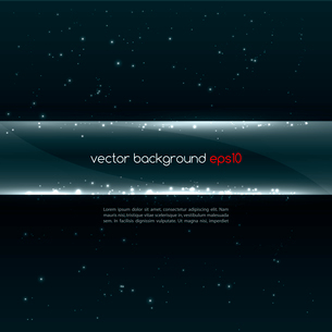 Abstract vector glowing  background. Vector illustrationのイラスト素材 [FYI03089624]