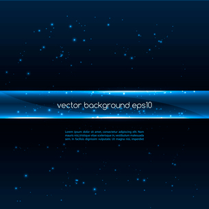 Abstract vector glowing  background. Vector illustrationのイラスト素材 [FYI03089626]