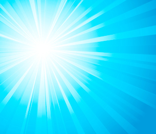 Vector illustration abstract sunny light background. EPS 10のイラスト素材 [FYI03089630]