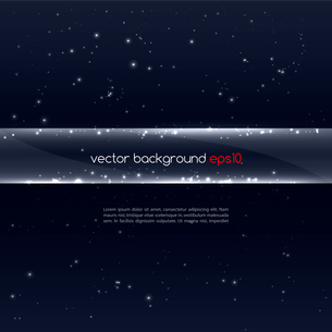 Abstract vector glowing  background. Vector illustrationのイラスト素材 [FYI03089631]
