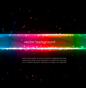 Abstract vector glowing  background. Vector illustrationのイラスト素材 [FYI03089632]