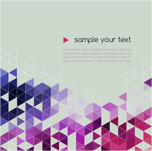 Abstract technology background  with triangle. Vector illustration.のイラスト素材 [FYI03089692]