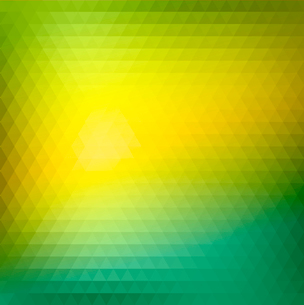 Abstract Green Triangle Background, Vector Illustration EPS 10のイラスト素材 [FYI03089754]