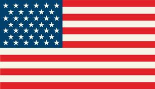 American Flag.  Patriotic background. Vector illustration. EPS 10のイラスト素材 [FYI03089761]