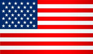 American Flag.  Patriotic background. Vector illustration. EPS 10のイラスト素材 [FYI03089762]