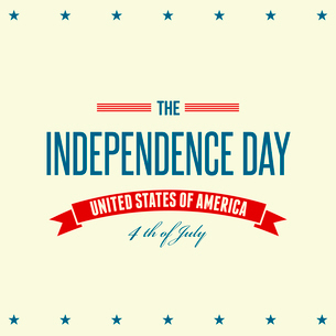 American Independence Day  Patriotic background. Vector illustrationのイラスト素材 [FYI03089776]