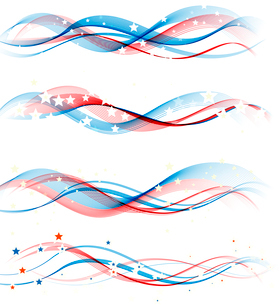 American Independence Day  Patriotic background. Vector illustrationのイラスト素材 [FYI03089777]