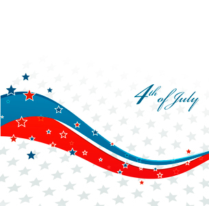 American Independence Day  Patriotic background. Vector illustrationのイラスト素材 [FYI03089779]